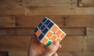 Rubik's Cube analogy with possible problems that are interfering with the success of your brand identity