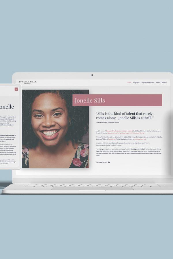 Jonelle - Creative Partner website client