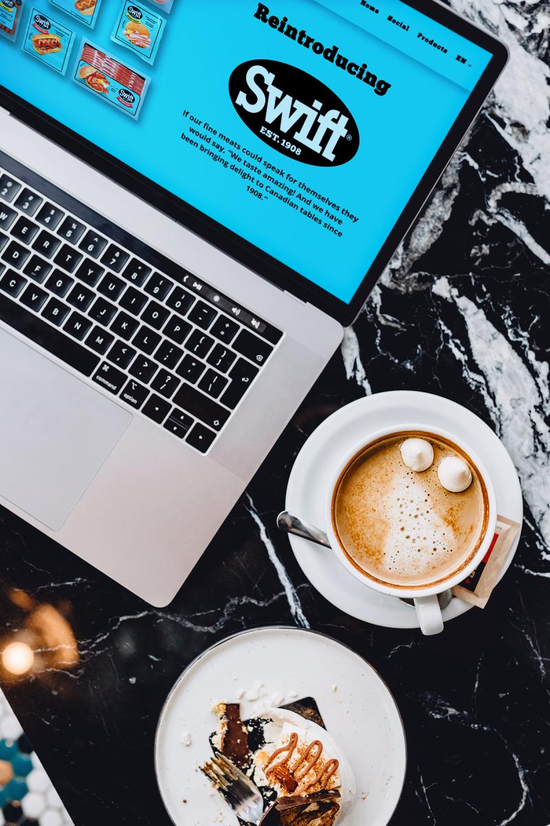 Swift - Creative Partner website client